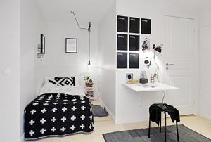 现代简约风格时尚小户型卧室装修效果图大全
