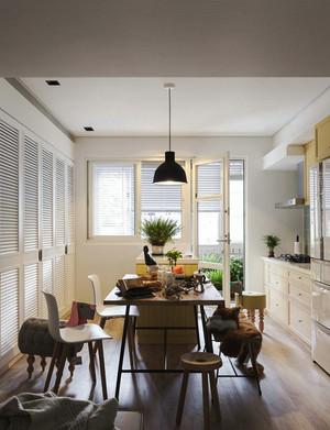 宜家风格小清新风格两室一厅室内装修效果图赏析