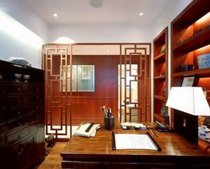 中式风格精致古典书房设计装修效果图赏析