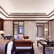 中式风格大户型精致典雅卧室装修效果图欣赏