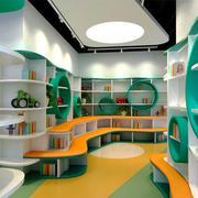 现代简约风格幼儿园教室环境布置装修效果图