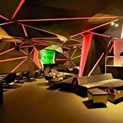 90平米现代风格主题音乐酒吧装修效果图