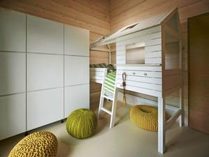 北欧风格时尚创意儿童房装修效果图赏析
