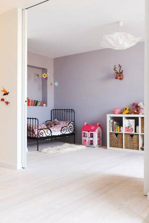 北欧风格清爽舒适儿童房装修效果图欣赏