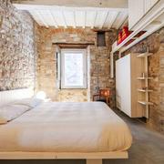 北欧风格创意自然卧室背景墙装修效果图