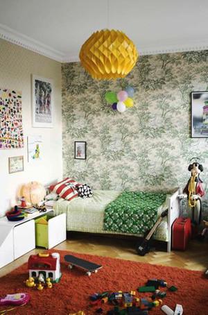 小清新风格时尚温馨儿童房装修效果图大全