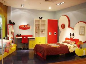 现代简约风格时尚卡通儿童房装修效果图欣赏