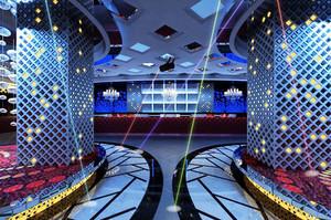 现代简约风格时尚创意KTV前台设计装修效果图