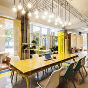 后现代风格时尚小型会议室装修效果图赏析