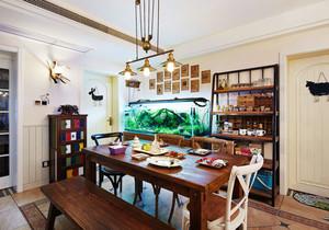 混搭风格精致创意餐厅装修效果图