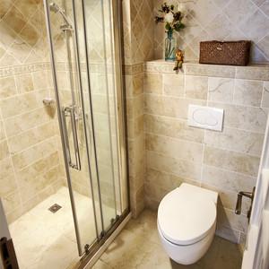 109平米欧式风格精美三室两厅室内装修效果图案例
