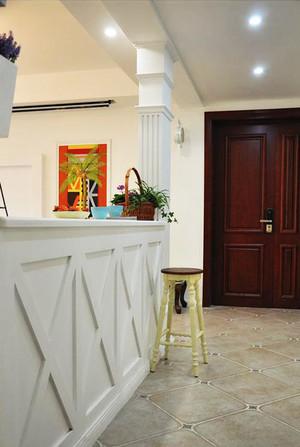 139平米美式田园风格四室两厅室内装修效果图案例
