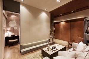 日式风格简约风格三室两厅室内装修效果图案例