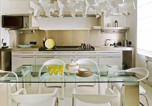 现代简约风格精美厨房餐厅装修效果图