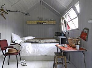 简约小户型浅色温馨卧室装修效果图大全