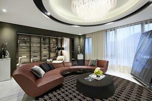 147平米新古典主义风格精美大户型室内装修实景图赏析
