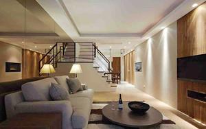 226平米新中式风格精致复式楼室内装修效果图案例