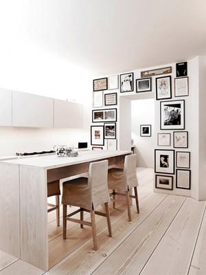 简约风格文艺照片墙装修效果图