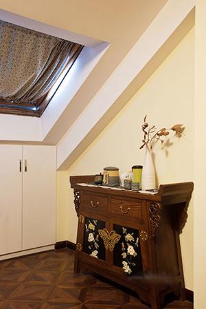 218平米中式风格古典朴素别墅室内装修效果图