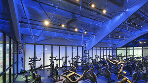 100平米现代风格健身房装修效果图赏析
