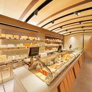 简约风格精致面包店装修实景图