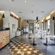 100平米现代风格意大利餐厅装修效果图