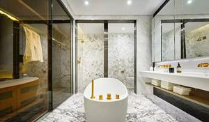 120平米后现代风格时尚个性室内装修实景图案例