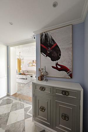 141平米简欧风格纯情白色三居室装修效果图