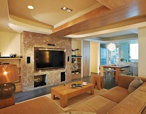 79平米现代风格原宿风两室一厅装修效果图