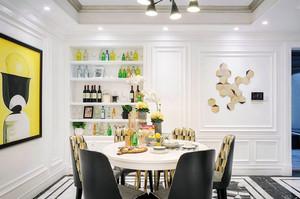 新古典主义风格精美餐厅装修效果图赏析