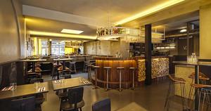 美式风格精致西餐厅装修效果图