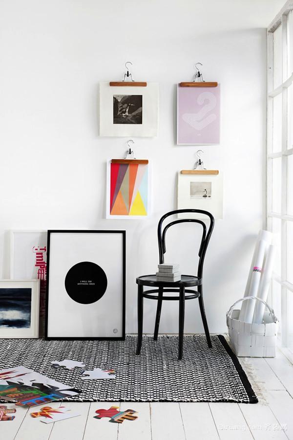 简约风格时尚简约照片墙装修效果图赏析