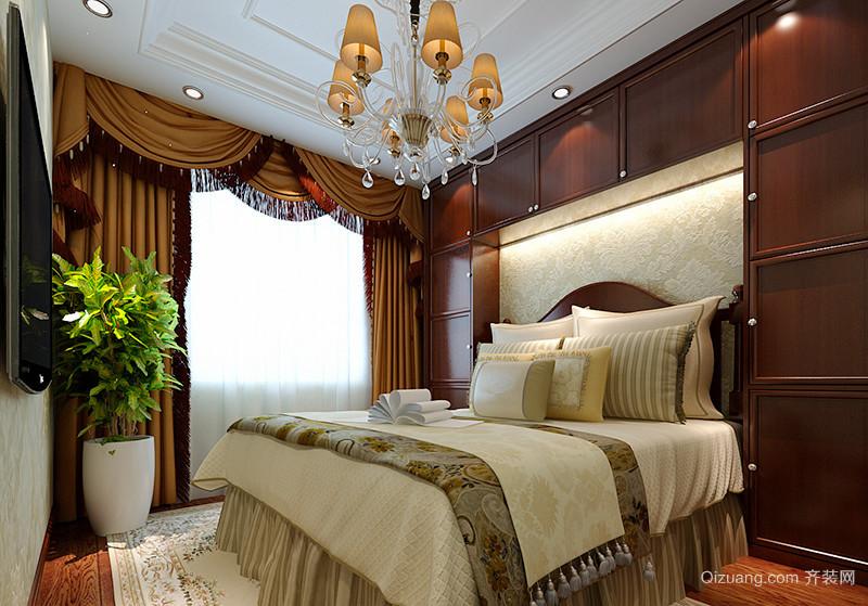 120平米古典欧式风格精装室内装修效果图案例