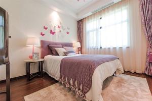 简欧风格浅色温馨卧室装修效果图欣赏