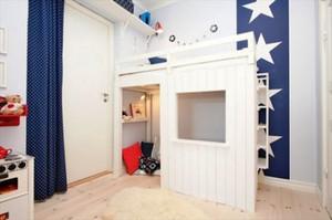 简约风格时尚可爱儿童房装修效果图大全
