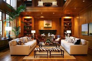 360平米美式风格粗犷随性别墅室内装修效果图