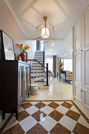 168平米美式风格复式楼室内装修效果图赏析