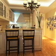 欧式风格大户型精致餐厅吧台装修效果图赏析