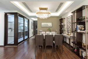新中式风格大户型精致餐厅装修效果图赏析