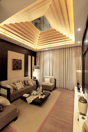 165平米新中式风格精致大户型室内装修效果图