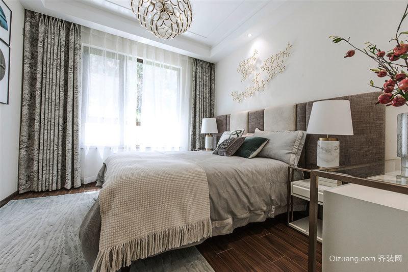 新中式风格两居室卧室装修效果图欣赏
