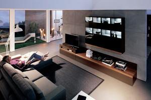 现代风格客厅组合电视柜装修效果图大全