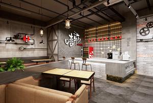 后现代风格中餐厅装修效果图赏析