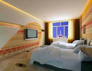 现代风格宾馆客房设计装修效果图赏析