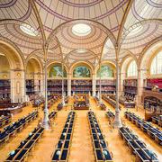 欧式风格精致图书馆装修效果图