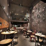 160平米后现代风格创意酒吧设计装修效果图