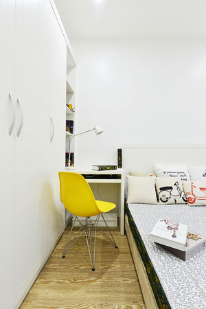 59平米现代风格时尚单身公寓装修效果图