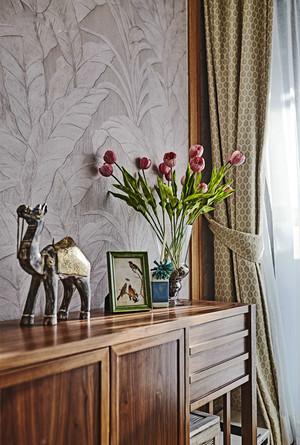 94平米东南亚风格精致两室两厅室内装修效果图案例