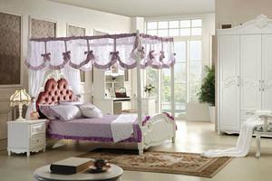 欧式风格精美女孩儿童房装修效果图大全