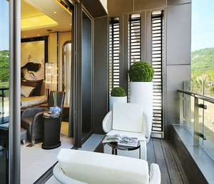 现代风格时尚阳台设计装修效果图欣赏